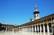Stock Photo of mosque in damascus