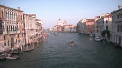 Grand Canal Timelapse - stock footage