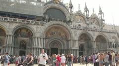Venice Tourist Timelapse Stock Footage
