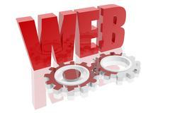 Operational web icon Stock Illustration
