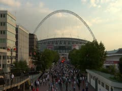 Wembley Locked off Stock Footage