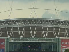 Wembley Zoom-Out Stock Footage