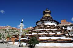 Gyantse lamasery,tibet Stock Photos