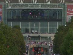 Wembley Way Stock Footage