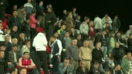 Football  or Soccer  Fans 25 fps  Stock Footage