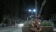 Cleveland Night Timelapse 2 Stock Footage