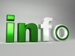 Info word Stock Illustration
