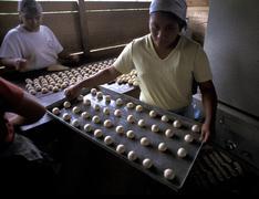 Guatemala bakery at santa rita returnee in the Stock Photos
