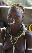 South sudan toposa at woman female people person Stock Photos
