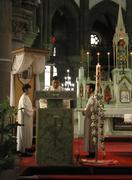 Stock Photo of china shenyang catholic cathedral people person