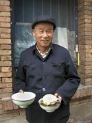 China the seminary at xian people man male Stock Photos
