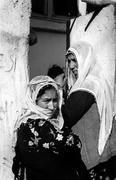 women females islam of nevsehir cappadocia black - stock photo