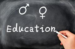 sex education - stock photo