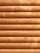 Parallel wooden logs Stock Photos