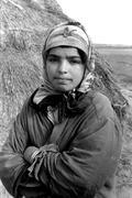 Women females general girl of kessarine tunisia Stock Photos