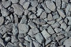scree stones - stock photo