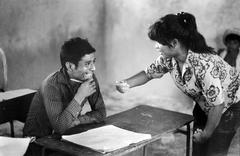 Adult literacy class chiquimula guatemala people Stock Photos