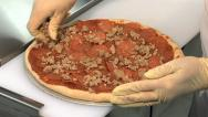 Creating a Pizza Stock Footage