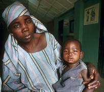 Nigeria äiti lapsen kid Kano people person 3127 Kuvituskuvat