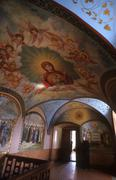 ukraine pochayiv monastery ternopil pattern 4269 - stock photo