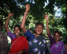 India slavery liberation dance and chant by Stock Photos