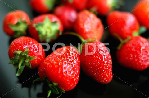 Stock photo of strawberry