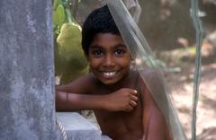 India children kids boy of tamil nadu people Stock Photos