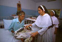 India health saint st. st joseph hospice for Stock Photos