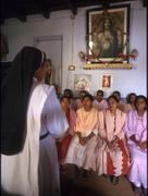 India religion christian cmc catholic sister Stock Photos