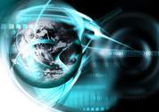 Technology background Stock Illustration
