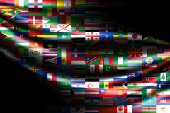 flags - stock illustration