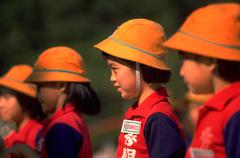 People school children kids taiwanese asian asia Stock Photos