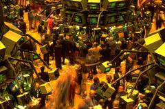 Business money new york stock market exchange Stock Photos