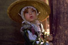 People girl child kid beauty children kids old Stock Photos