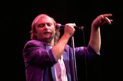Music people star phil collins singer musician Stock Photos