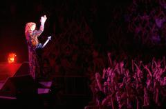 Musiikkia ihmiset Thompson kaksoset rock-konsertti tähteä Kuvituskuvat