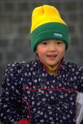 People girl child kid children kids korean seoul Stock Photos
