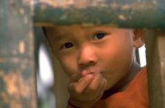 People child kid children kids thailand asia boy Stock Photos