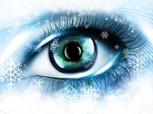 Stock Illustration of winter eye