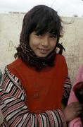 Tunisia girl of kasserine people person country Stock Photos