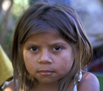 nicaragua girl of condega portrait people person - stock photo