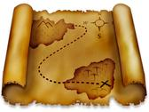 Stock Illustration of treasure map