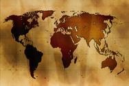 Ancient map Stock Illustration