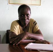 Burkina faso sawadogo fati hiv at regiaiu des Stock Photos
