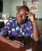 Burkina faso sawadogo ramadou nurse who is hiv Stock Photos