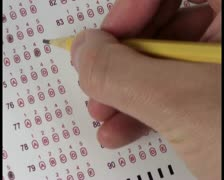 Multiple choice test V3 - PAL Stock Footage