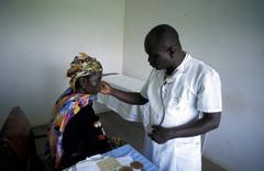 ghana the sheikhinah clinic tamale people person - stock photo