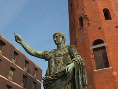 Stock Photo of caesar augustus statue