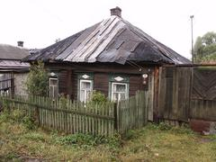 Old house perislavl zalessky home country nation Stock Photos