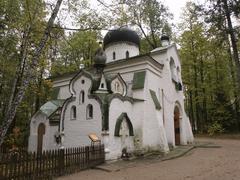Russia church at abramtsava 2002 country 7965 Stock Photos